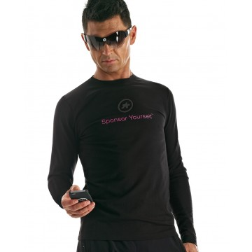 "T-shirt maniche lunghe ASSOS ""Sponsor yourself"""
